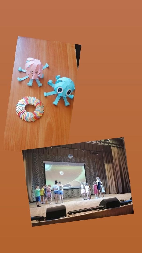 20 июля в МКДЦ прошла развлекательная программа «Детское караоке»